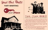 Save the Date - Party Benefitting Joe's Place